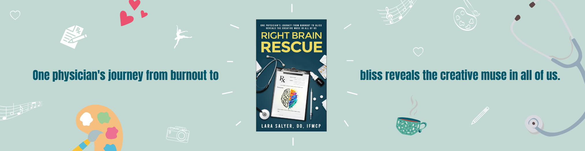 Right Brain Rescue Book Banner