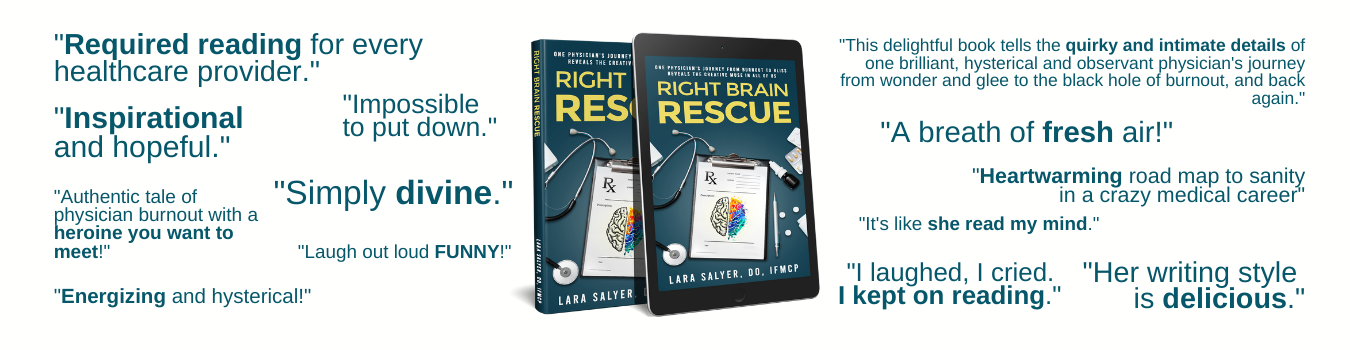 Book Banner Right Brain Rescue Reviews