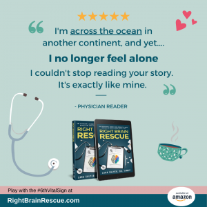 Right Brain Rescue Book Ad