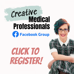Creative Medical Professionals Facebook Group