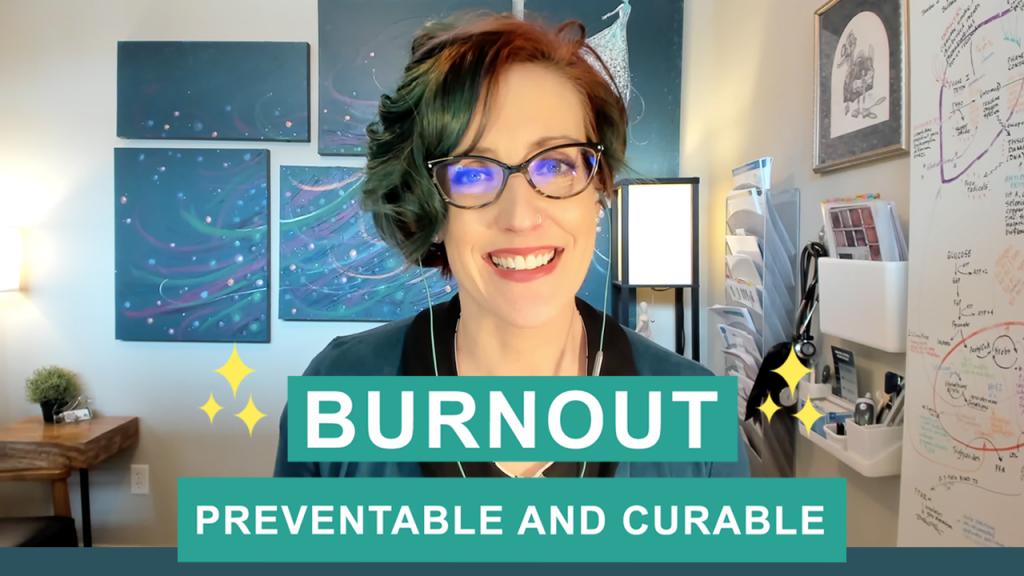 Dr. Lara Salyer Burnout Preventable Curable