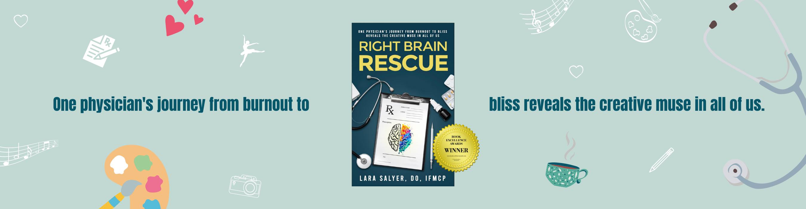 Website Right Brain Rescue Book Award Winner 02
