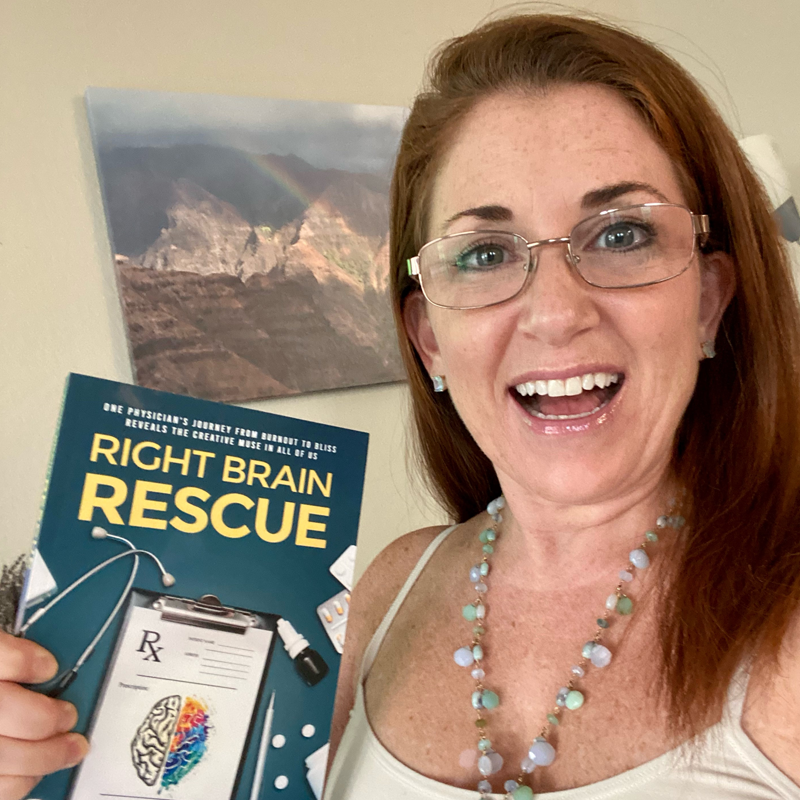 Right Brain Rescue Book Customer