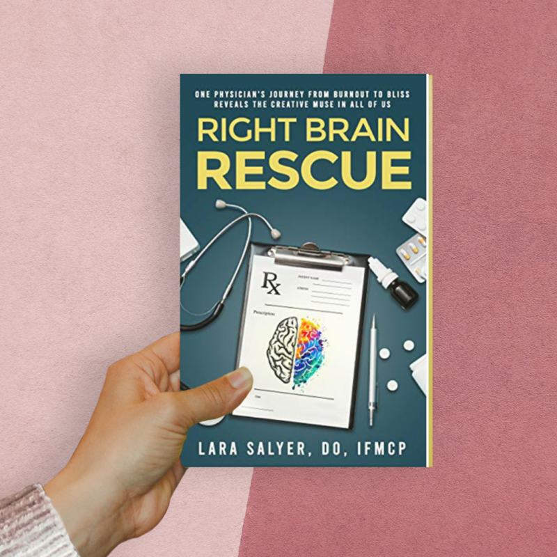 Right Brain Rescue Paperback Book