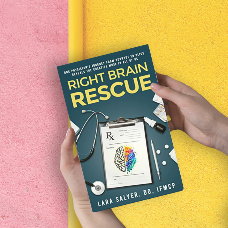 Right Brain Rescue Book Mural
